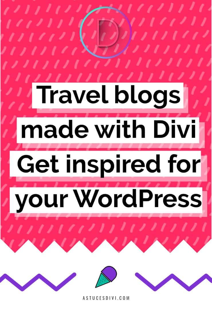 Travel blogs Divi