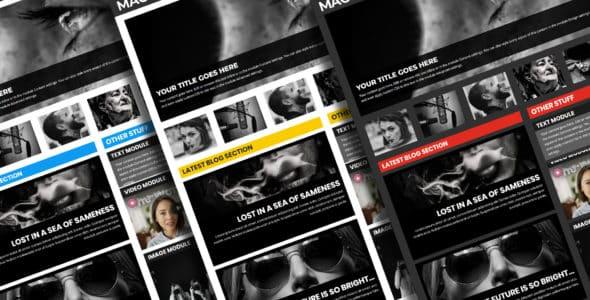 layouts pour blog divi magazine