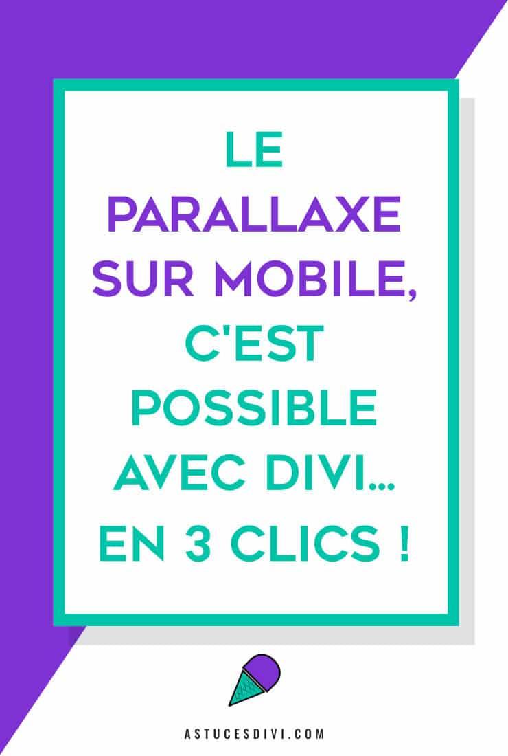 parallaxe mobile
