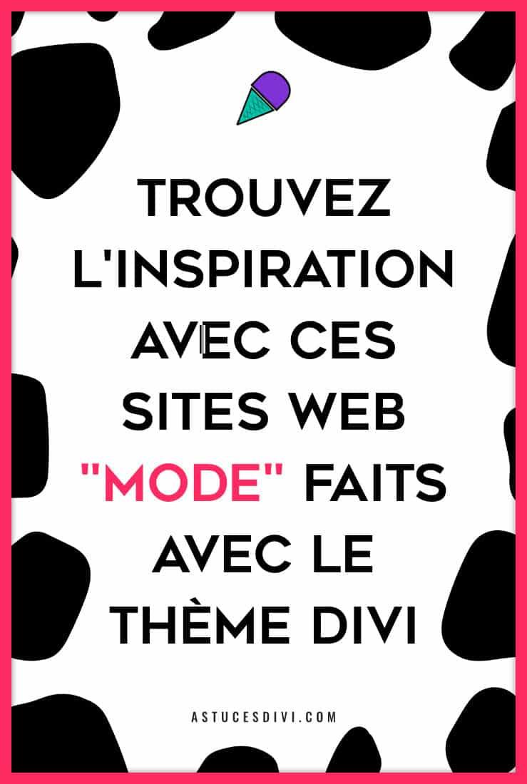 sites web de mode Divi