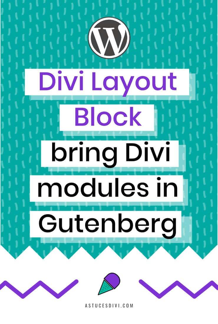 Add Divi Modules in Gutenberg