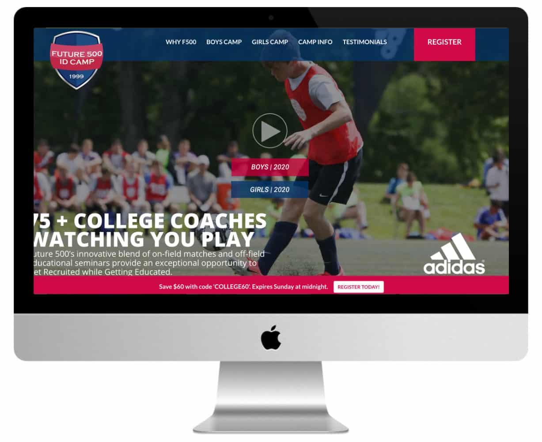 site de sport Divi : Future