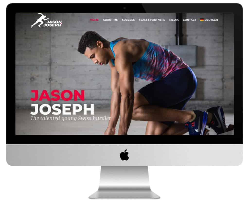 site de sport Jason Joseph