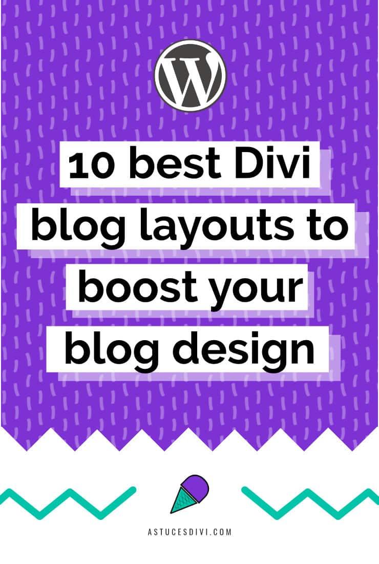 10 best Divi Blog Layouts