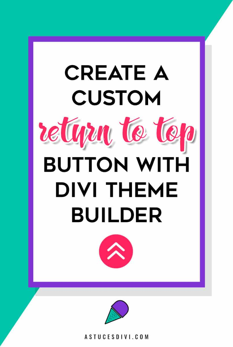 """Return to top"" button"