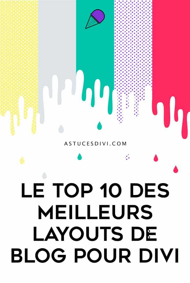 Top 10 layouts pour blog Divi