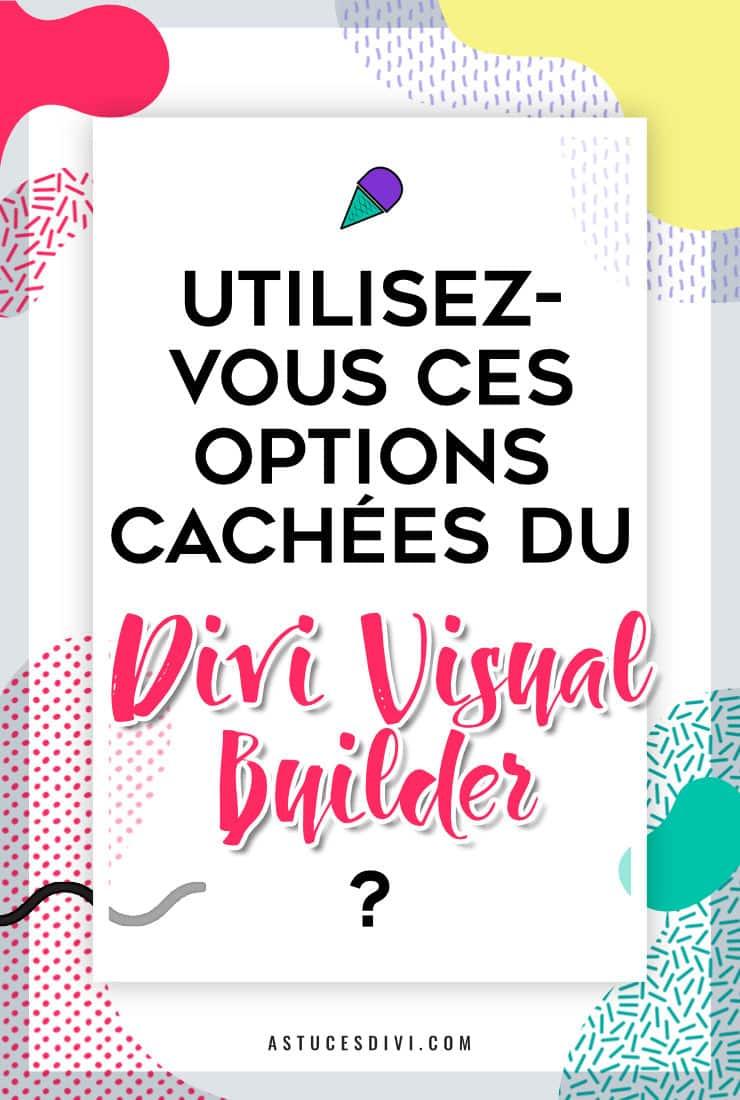 Fonctionnalites Visual Builder Divi