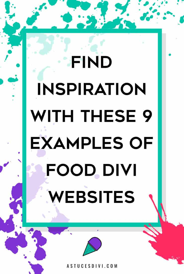 Food Divi Websites