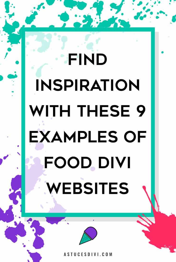 Food Divi Websites