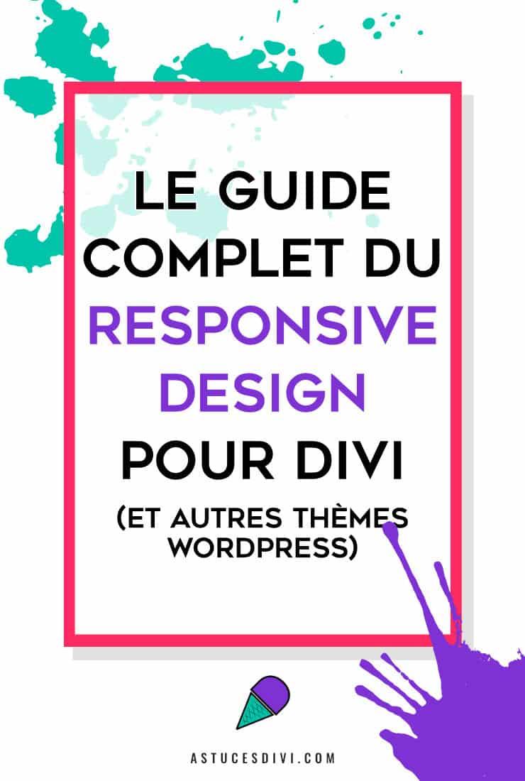 Responsive design Divi : guide complet