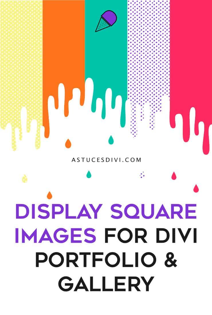 Square Image Divi Pin
