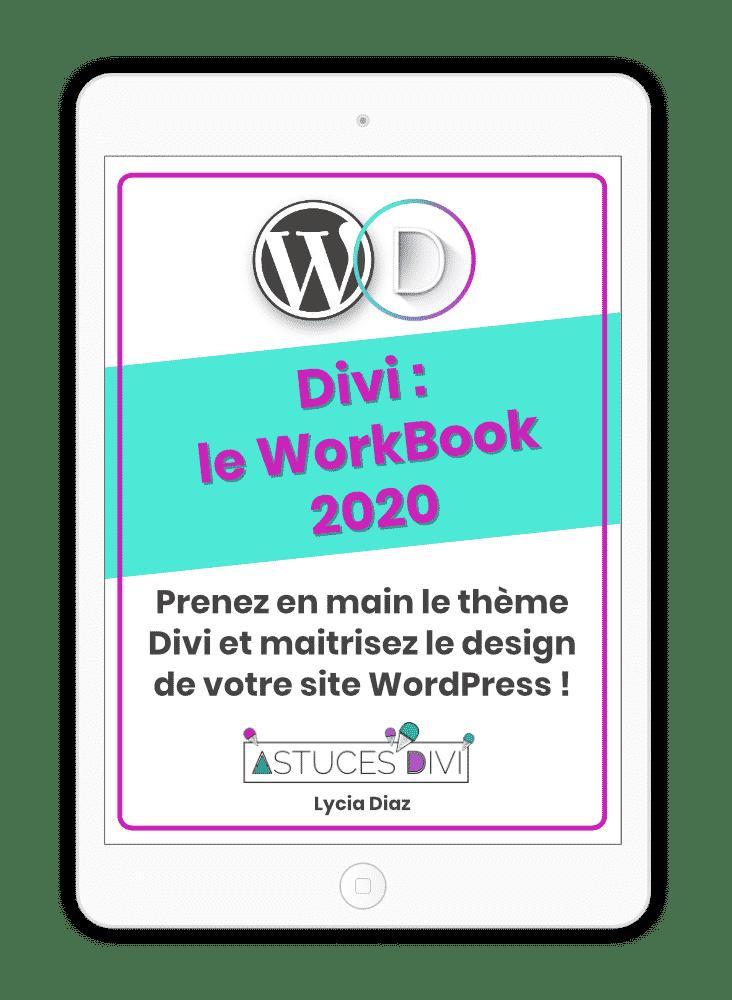 Workbook Divi Sans Fond 2020