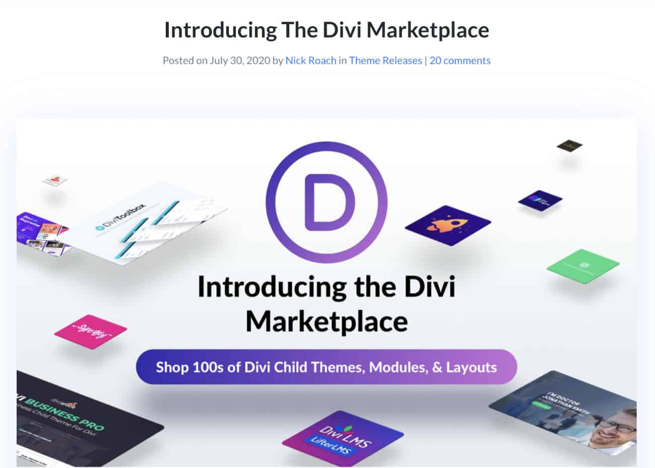 Divi Marketplace 2