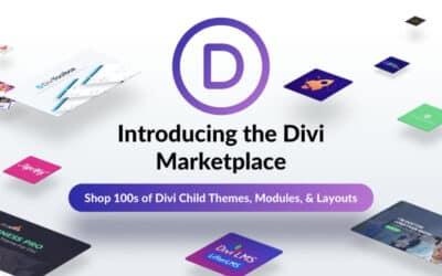 La Divi Marketplace est maintenant disponible !