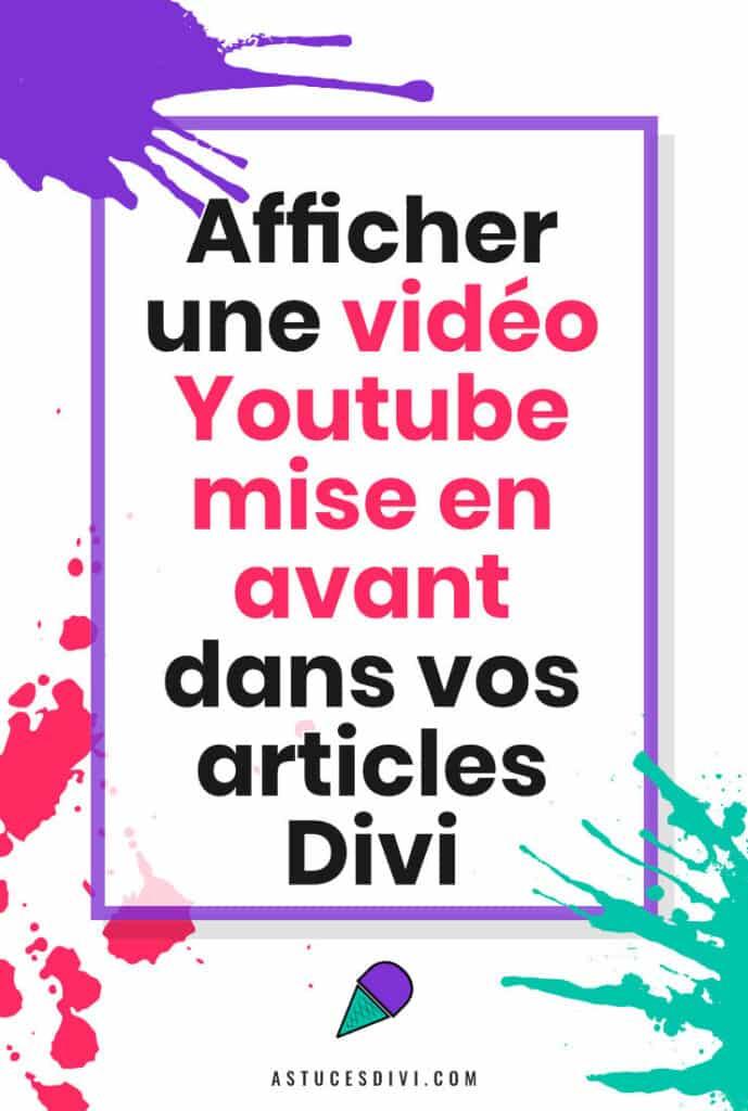 Video Mise En Avant Youtube