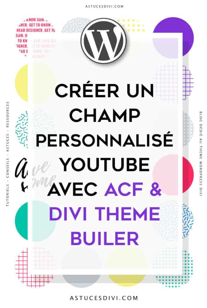 Youtube Acf Divi