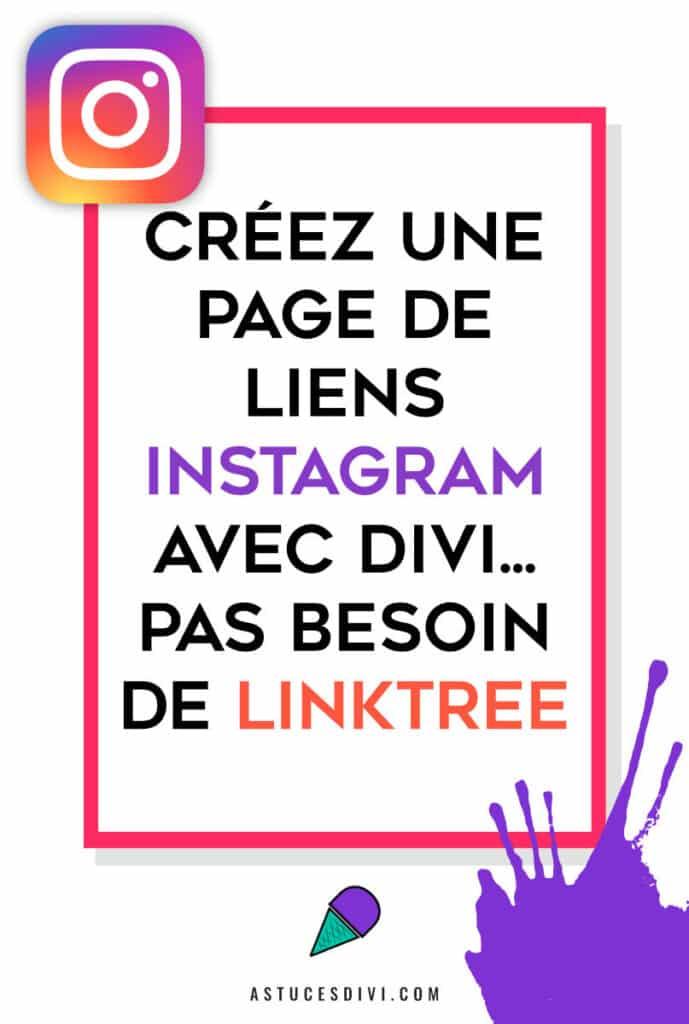 Page Lien Insta Sans Linktree
