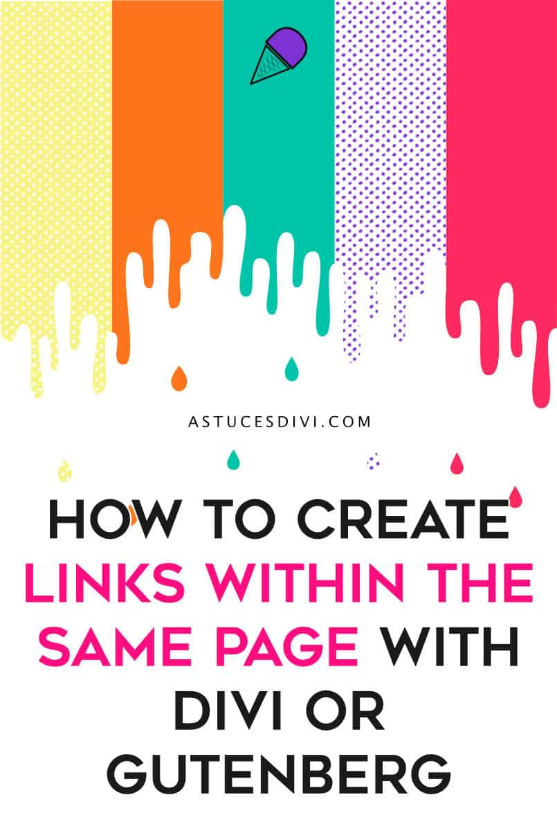 Anchor Link within same page with Divi