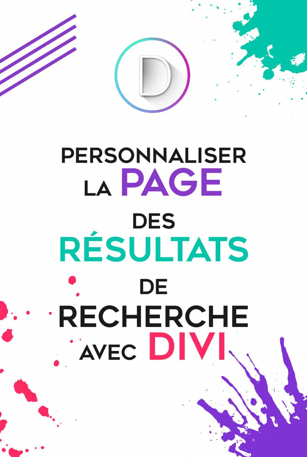 Page Result Divi Pin