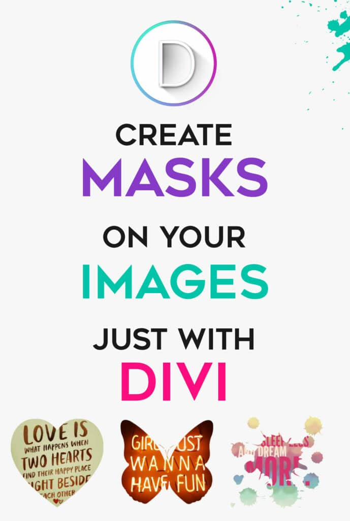 Create Divi masks simply