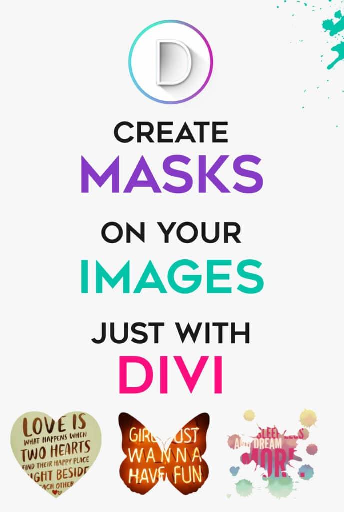Create Divi masks simply