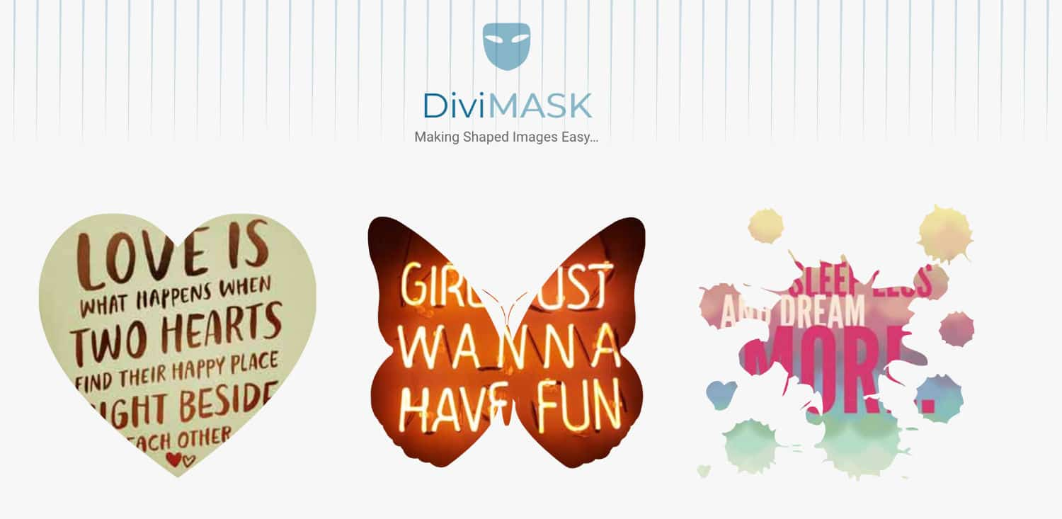 Divi Mask plugin