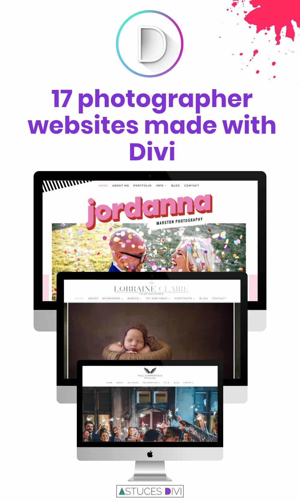 site photo divi tips en