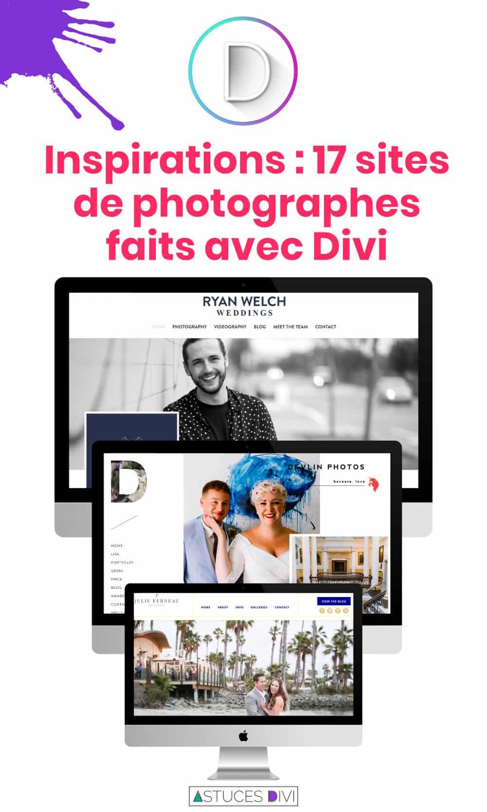 site photo divi tips