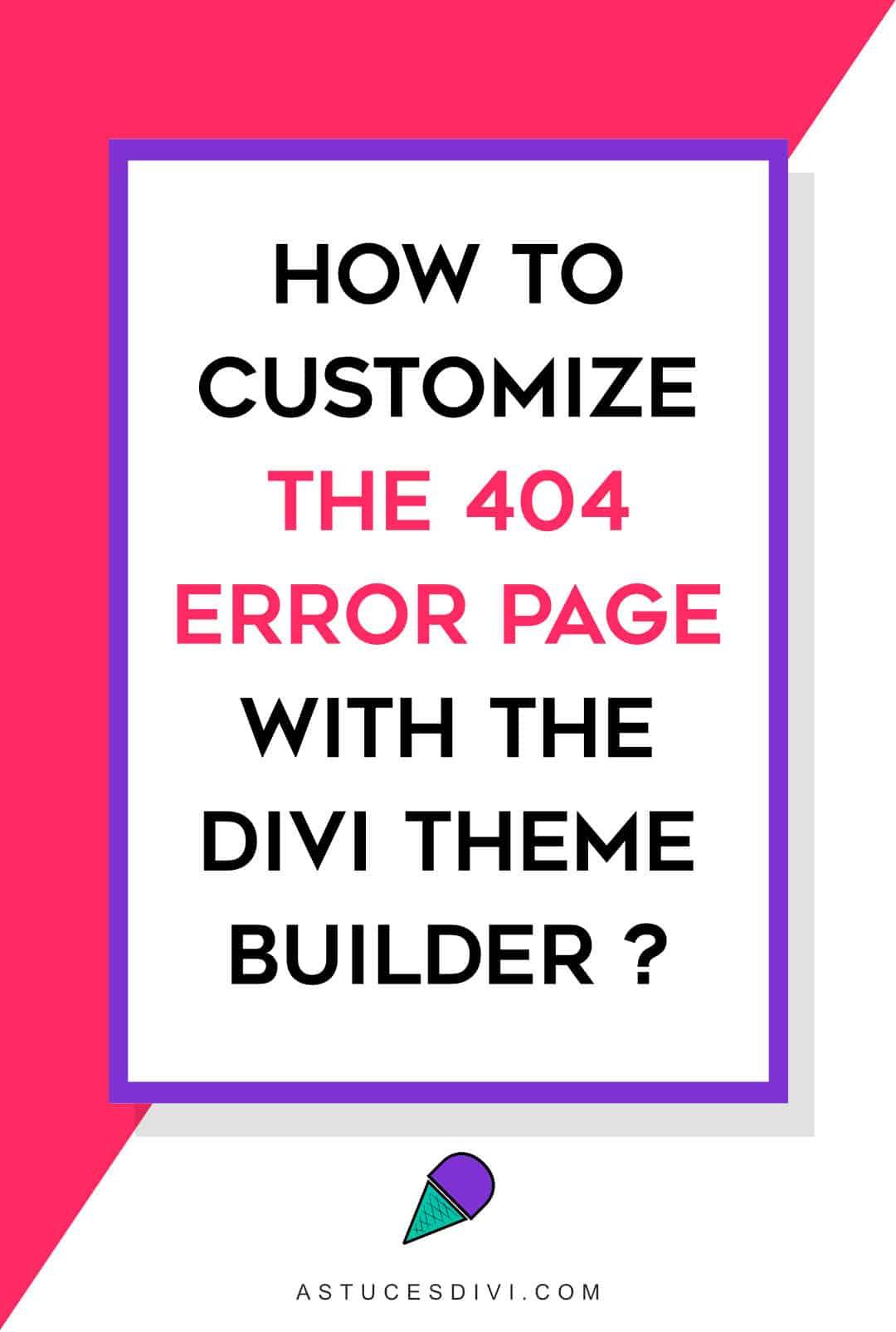 pin modifier page erreur 404 en 117