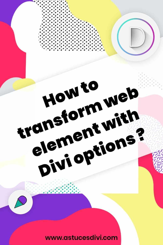 options transformation 4